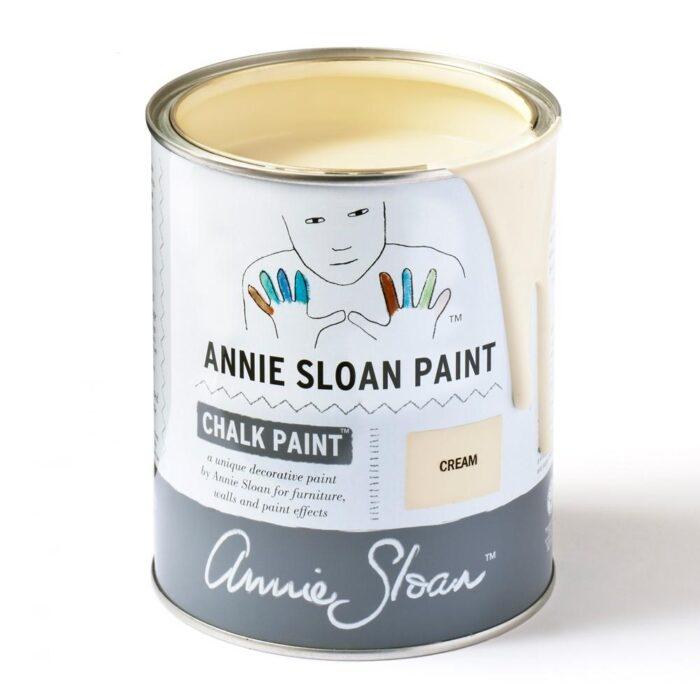 Cream tin sq