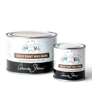 clear chalk paint wax